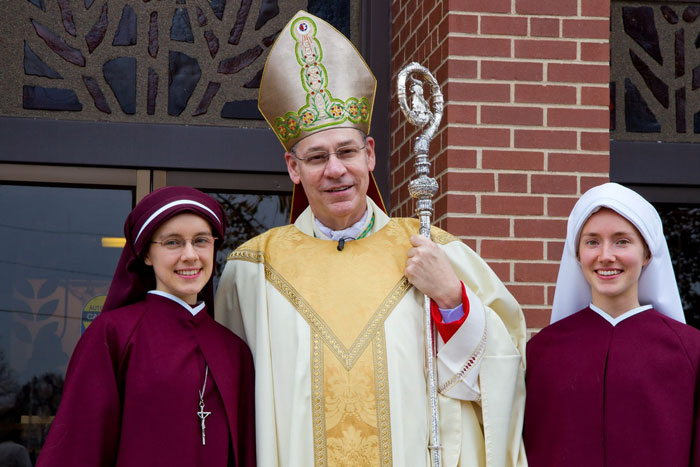 Bishop Finn and sisters