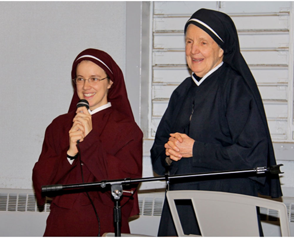 Sr. Faustina and Mother Julia
