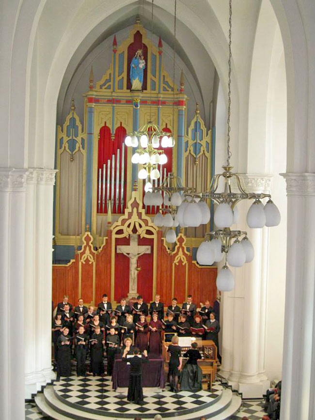 Choir at Most Holy Mother of God church
