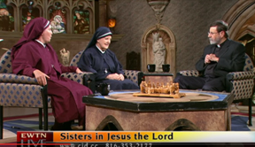 Sisters with Fr. Mitch