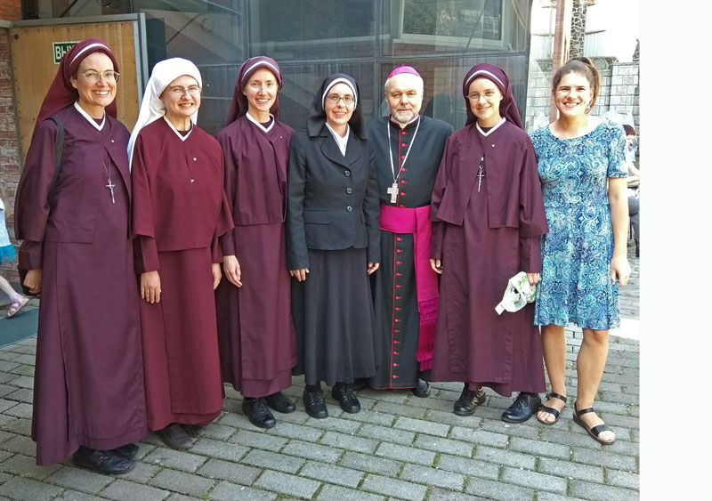 sisters with Bishop Klimovitch